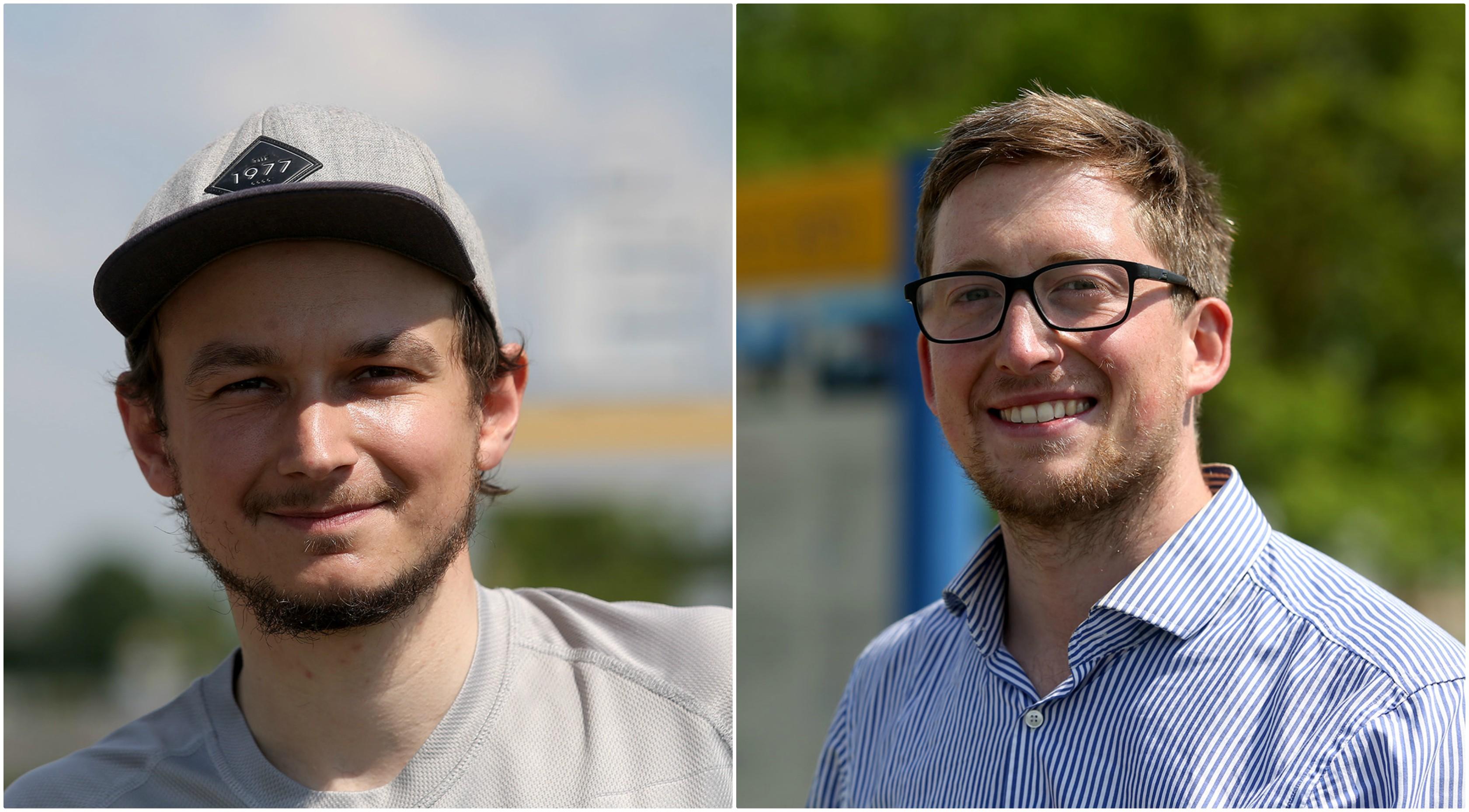 Timas Kortenjann, Lukas Nover. Algimanto Barzdžiaus nuotr.
