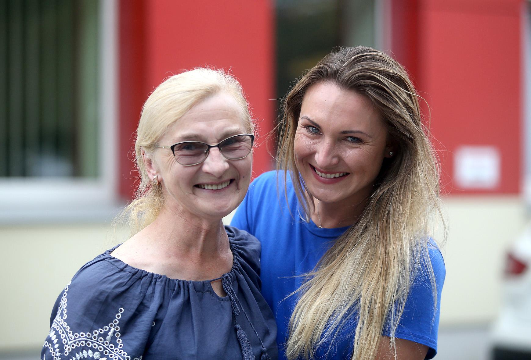 Kraštietė E. Virbalaitė su mama Vilma. / Algimanto Barzdžiaus nuotr.