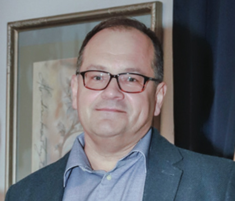 """Siuvimo įmonės """"Jugunda"""" direktorius Vaidotas Gargasas. / A. Barzdžiaus nuotr."""