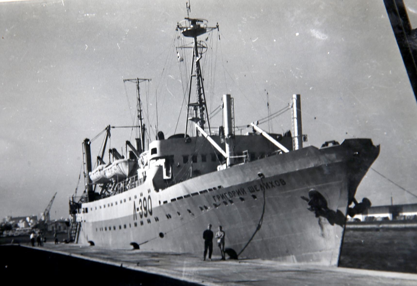 """Laivas """"Vytautas Montvila"""", kuriuo teko plaukioti Vytautui Bagdonavičiui. Asmeninio archyvo nuotr."""