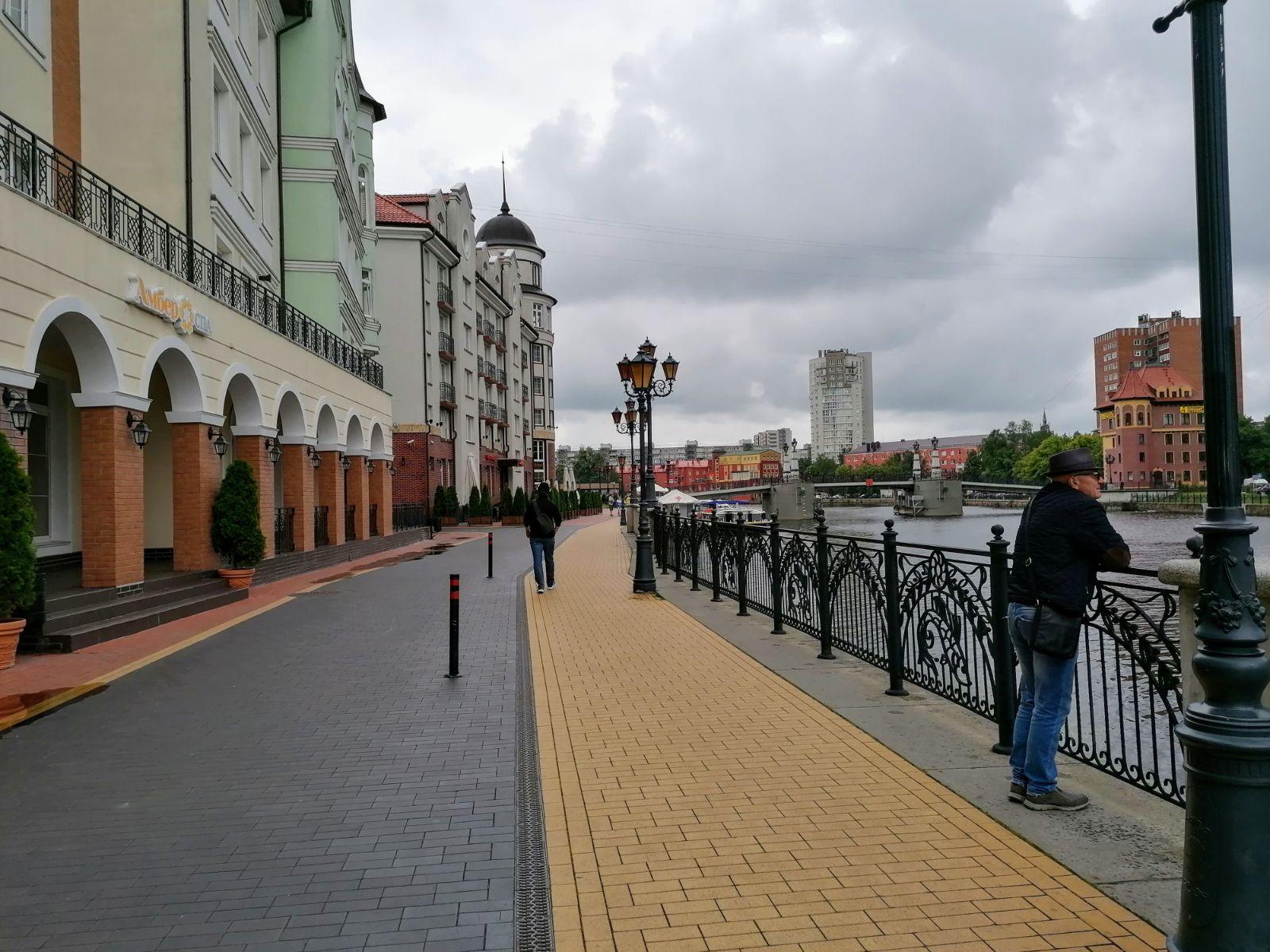 Anksčiau Kaliningrade esančioje Žvejų gatvėje vykdavo ne tik aktyvi žvejyba, bet ir prekyba – šis kvartalas sutraukdavo daugybę vietinių, atvykusių įsigyti jūros gėrybių. / I. Kriščiūnienės nuotr.