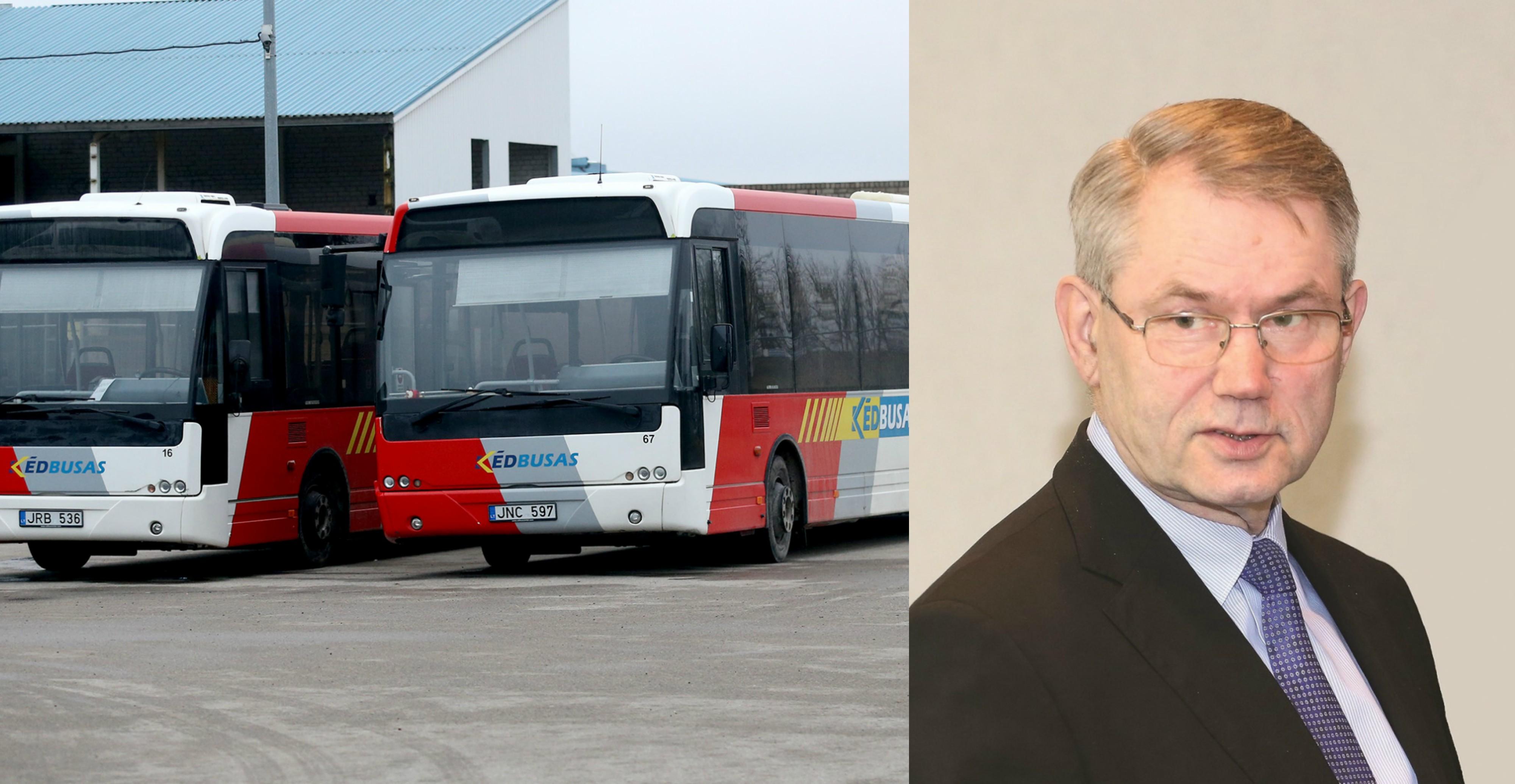 """Buvęs ilgametis rajono meras Viktoras Muntianas įsitikinęs: """"Kėdbusas"""" gali pragyventi iš biudžeto kasmet jam skiriant 193 tūkst. eurų. Politikas pabrėžė, jog nereikėtų tuomet pirkti senų autobusų, už juos mokant triskart brangiau."""