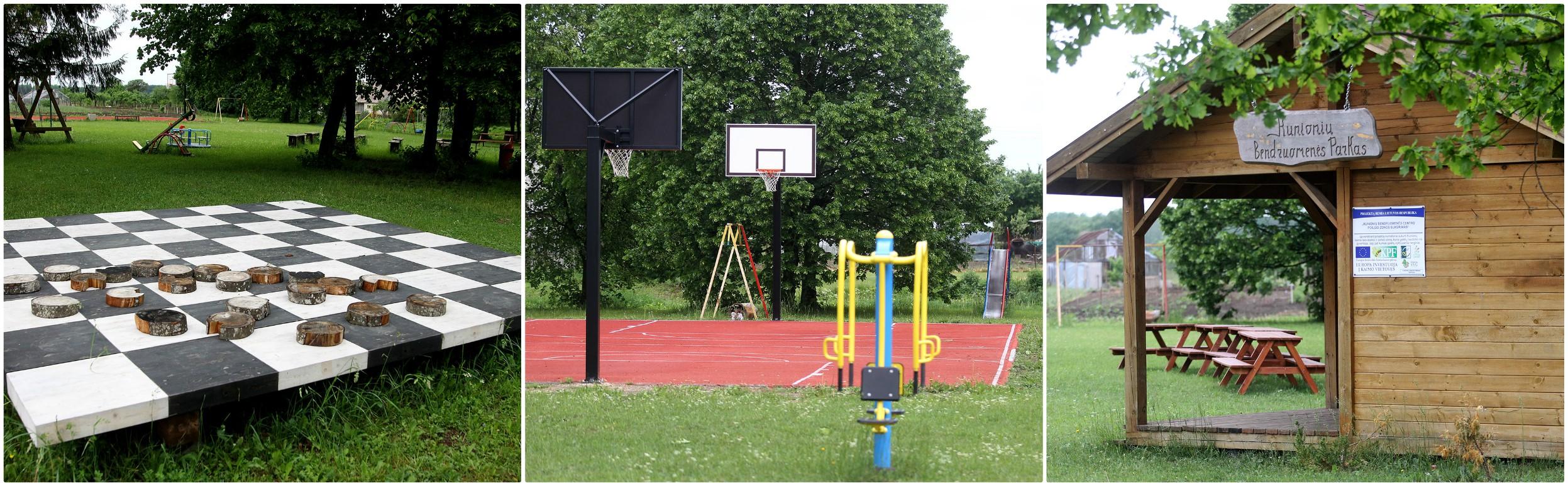 Bendruomenės parkas tik plečiasi ir didėja. Jame atsiranda vis naujų įrengimų, naujo laisvalaikiui ir sportui skirto inventoriaus. Parkas populiarus tarp jaunimo ir tarp vyresnių žmonių. Ši erdvė reikalinga ir tam, kad žmonės turėtų kur susiburti ir šventes švęsti. A. Barzdžiaus nuotr.