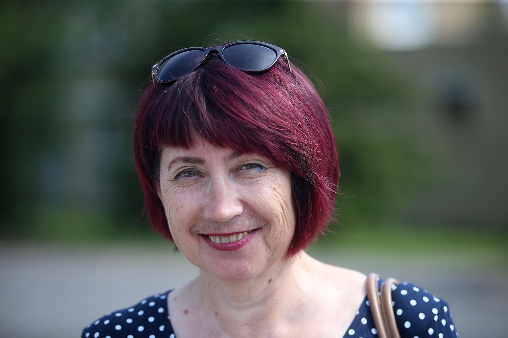 Lančiūnavos bendruomenės centro narė Irena Paragienė patikino, jog seniau kaime netrūko šviesių, gabių ir mokytų žmonių, aktyvios veiklos bei kultūrinių renginių. Algimanto Barzdžiaus nuotr.