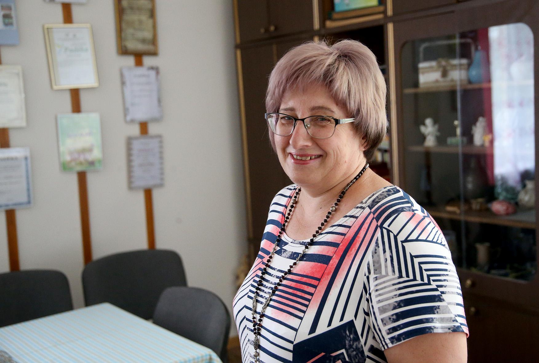 Jolantos Vasilienės nuomone, dabar Lančiūnava ir jos gyventojai labiausiai džiaugiasi metai iš metų puoselėjamomis tradicijomis bei kasmet bendruomenės iniciatyva rengiamais projektais. Algimanto Barzdžiaus nuotr.