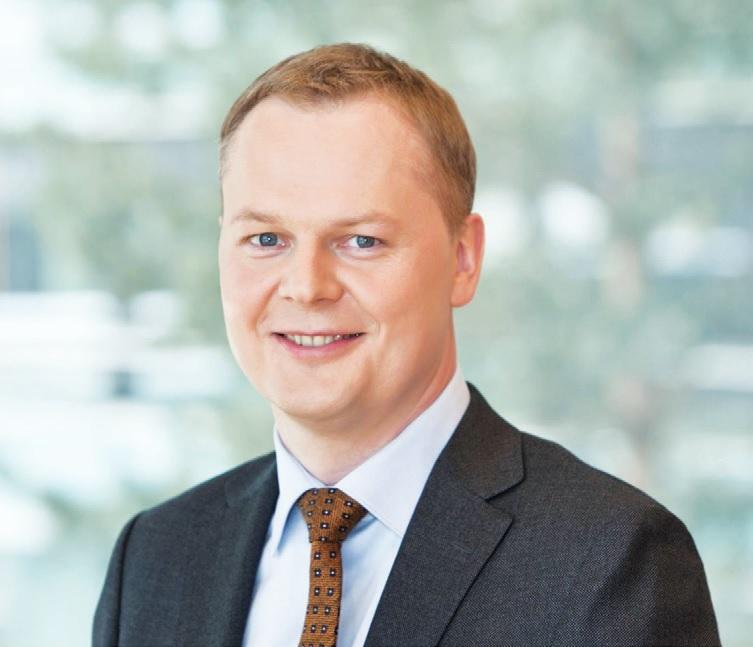 """Banko """"Luminor"""" verslo klientų departamento vadovas Lietuvoje Vytis Žegužauskas."""