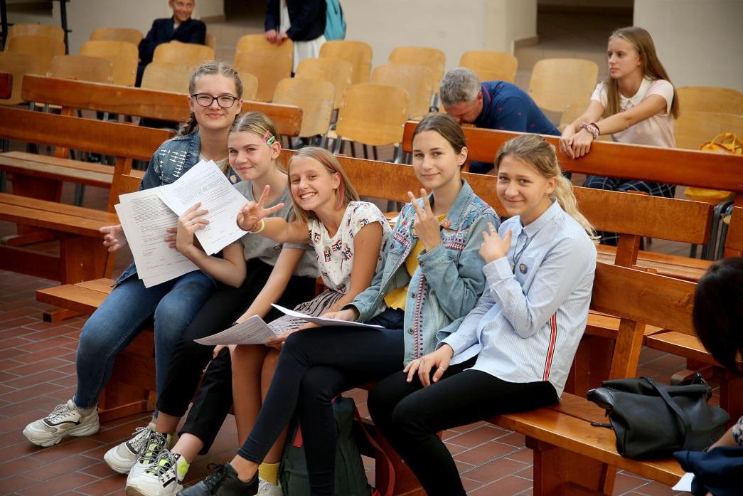 Šiemet Sėkmės ir lyderystės mokykla priėmė net 52 naujokus, iš viso čia mokosi 102 vaikai. / Algimanto Barzdžiaus nuotr.