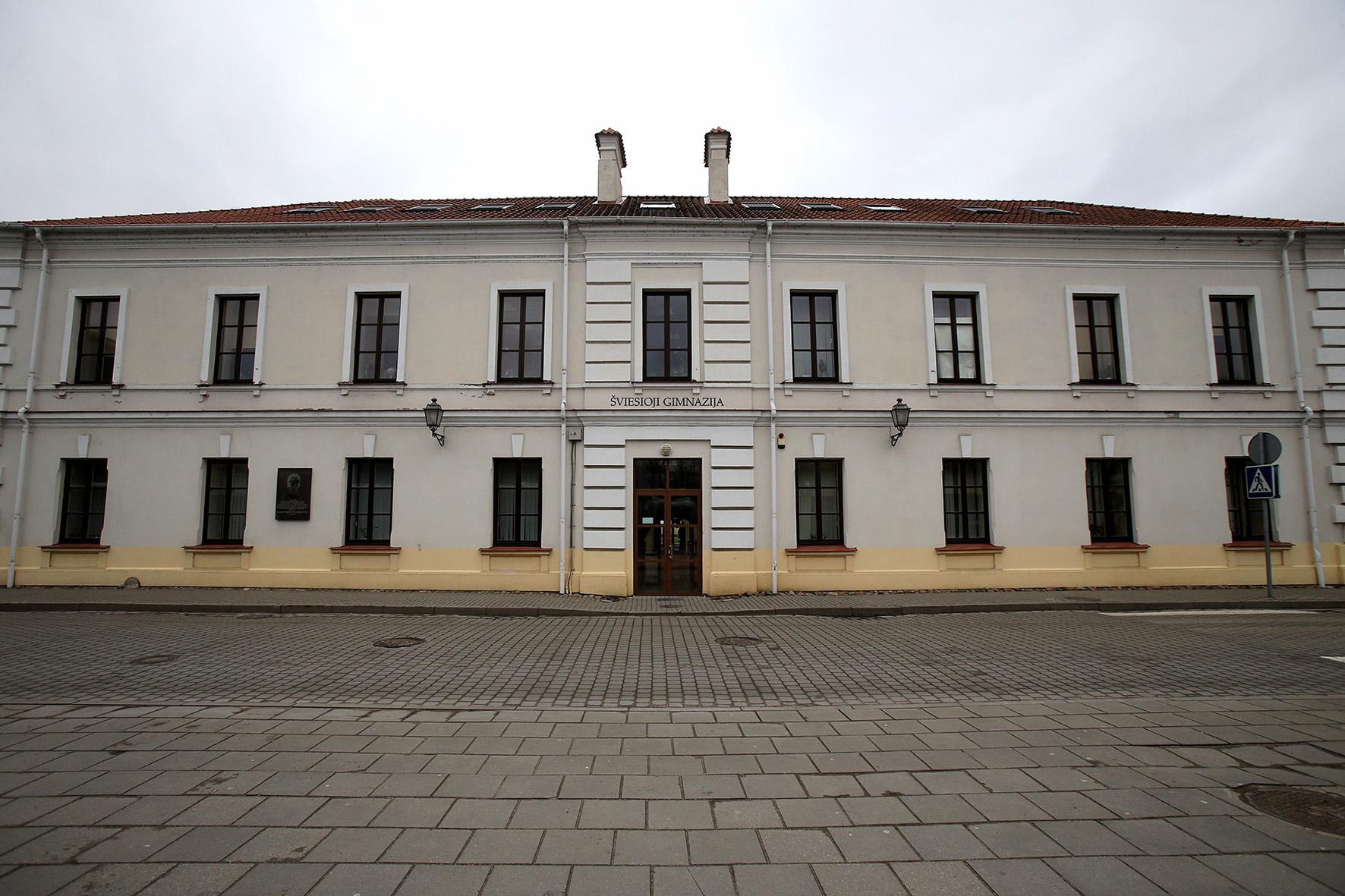 Šviesiojoje gimnazijoje įkurta Sėkmės ir lyderystės mokykla šiemet išleis pirmąją laidą. Joje – 63 jaunieji lyderiai. A. Barzdžiaus nuotr.