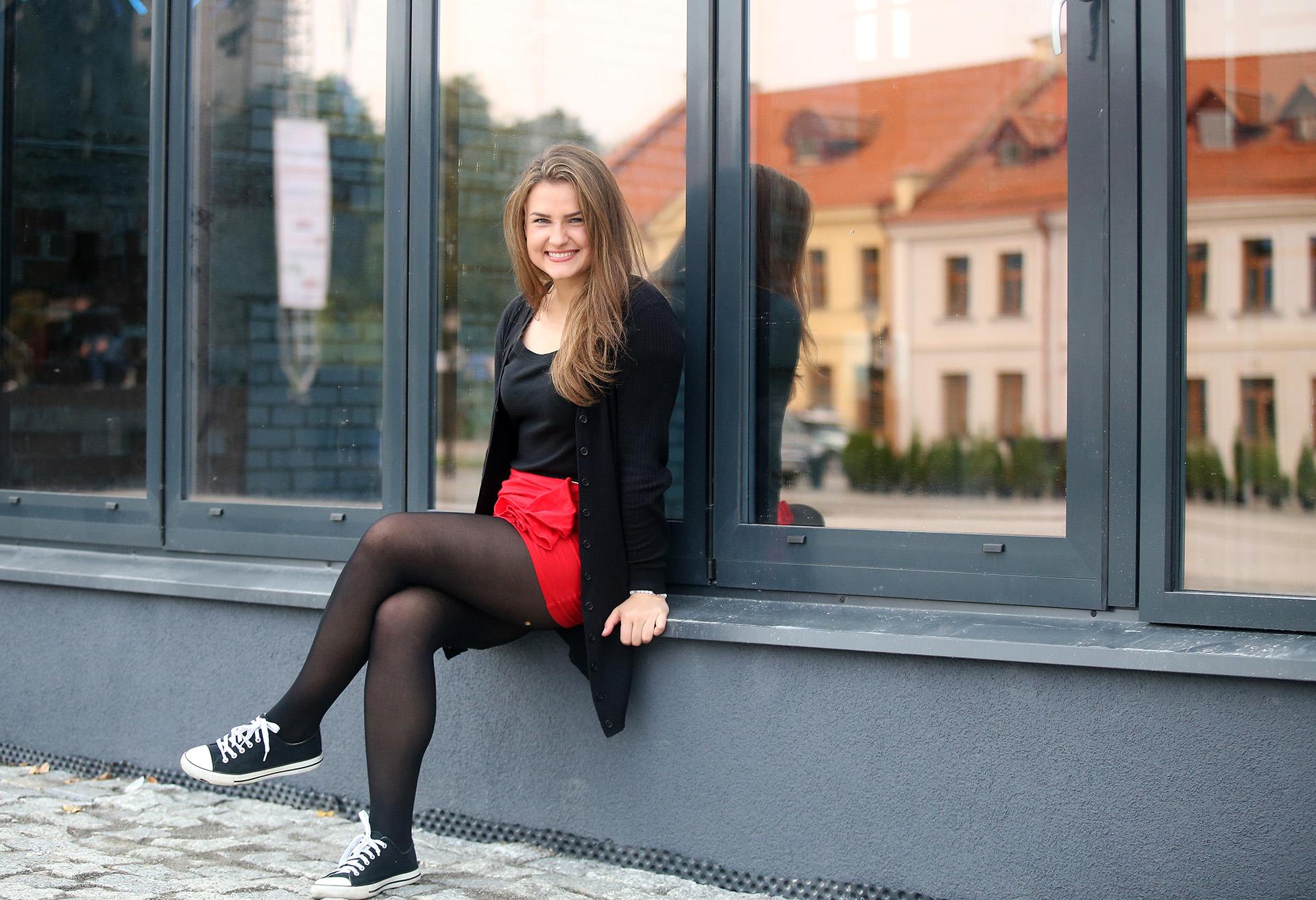 Devyniolikmetė M. Sabašinskaitė neslepia – iš realybės šou sugrįžti į tikrąją realybę jai vis dar yra gana sudėtinga. / A. Barzdžiaus nuotr.