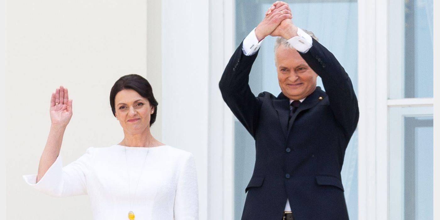 Lietuvos Respublikos Prezidentas Gitanas Nausėda su žmona Diana. / BNS (Žygimanto Gedvilos) nuotr.
