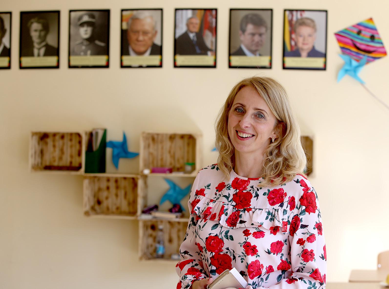 """Sandra Kavaliauskienė: """"Požiūris – labai svarbu. Į problemas žiūriu kaip į iššūkį, kuris reikalauja valios ir pastangų."""" Algimanto Barzdžiaus nuotr."""