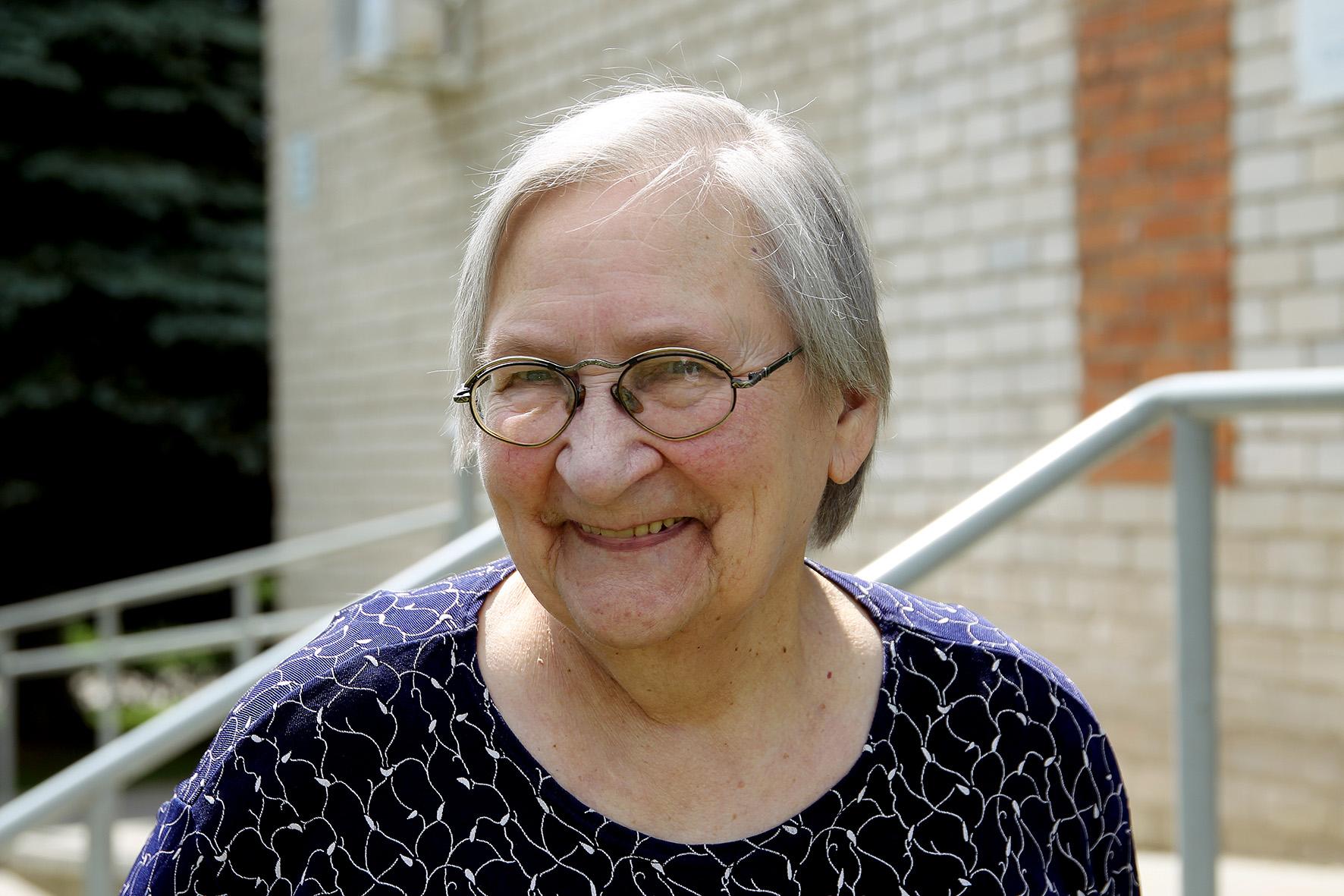 Optimizmo nestokojančios Reginos Šeškauskienės laisvalaikis pašvęstas anūkams ir knygoms.