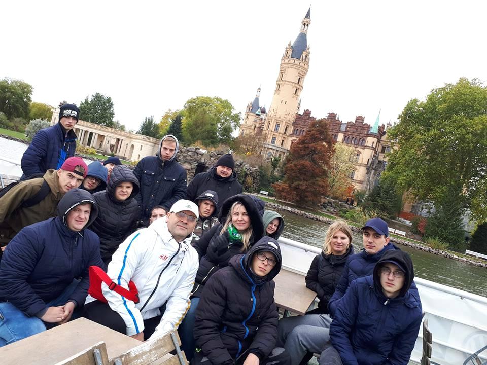 Kėdainių PRC delegacija net tris savaites stažavosi septynių ežerų apsuptame Švėryno mieste Vokietijoje./ Kėdainių PRC nuotr.
