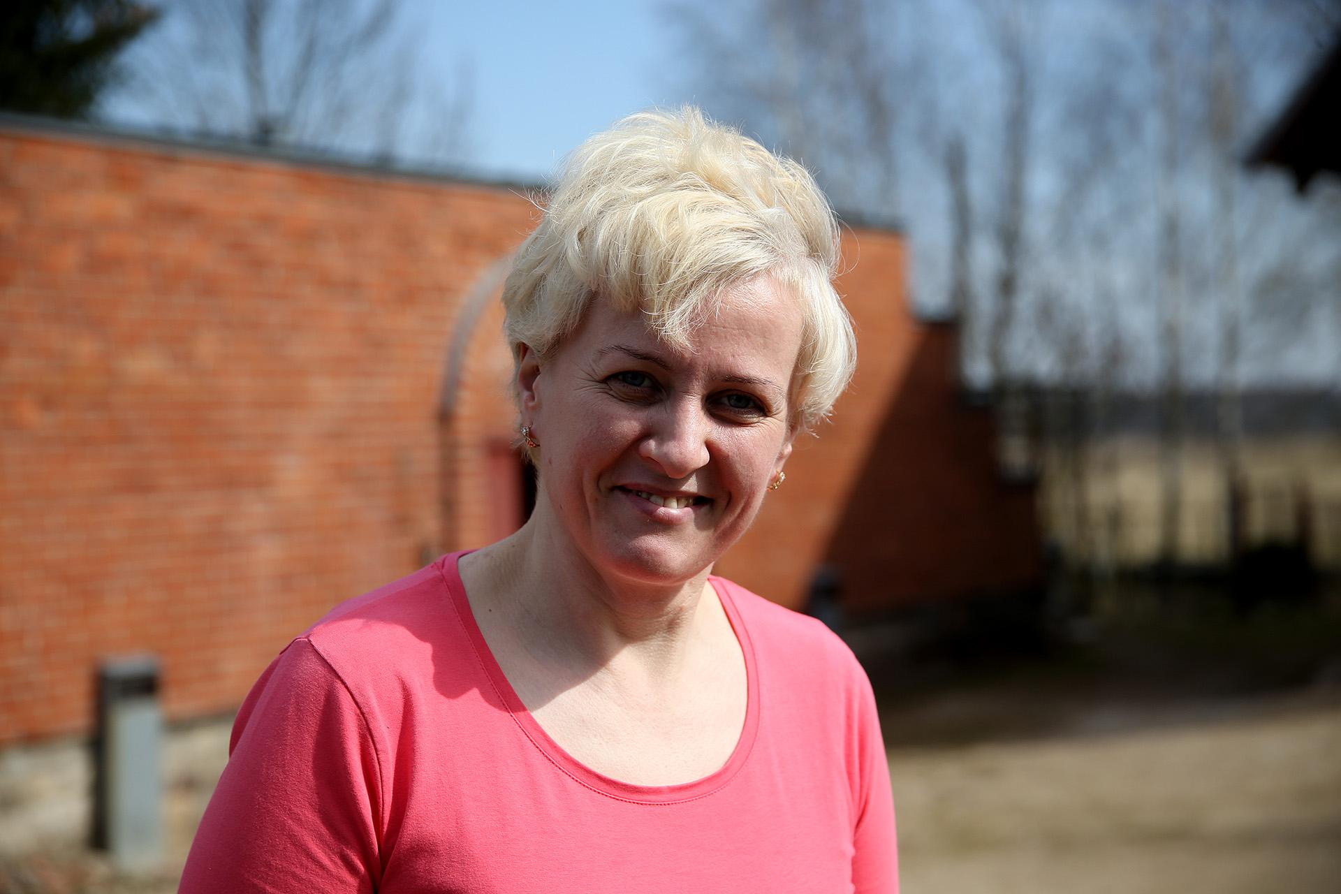 Nors Lijana nelinkusi girtis, bet jos kieme stūksantis rūsys yra bene vienintelis toks Lietuvoje. A. Barzdžiaus nuotr.