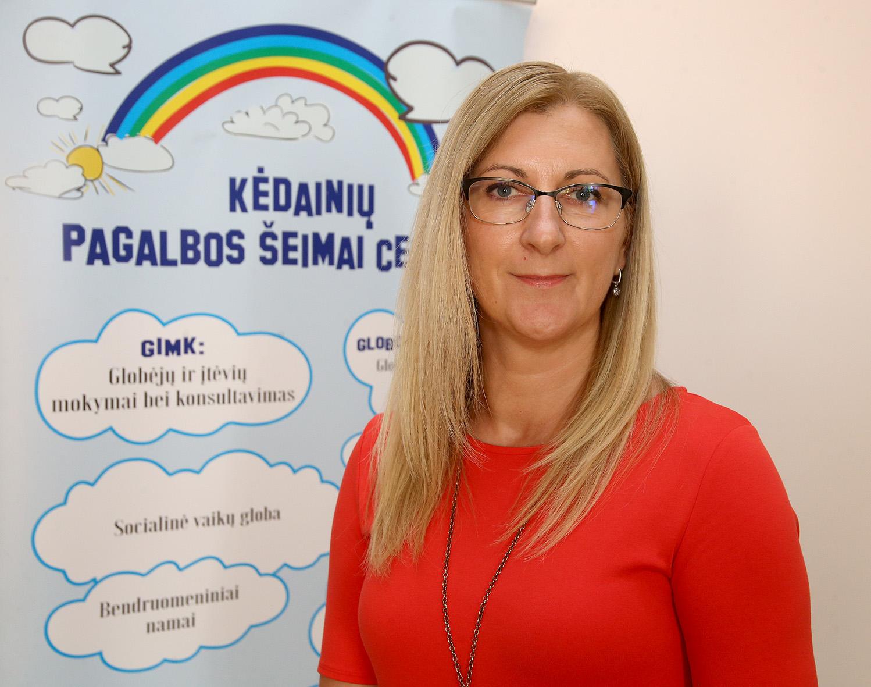 Kėdainių pagalbos šeimai centro vadovė Sandra Sagatienė