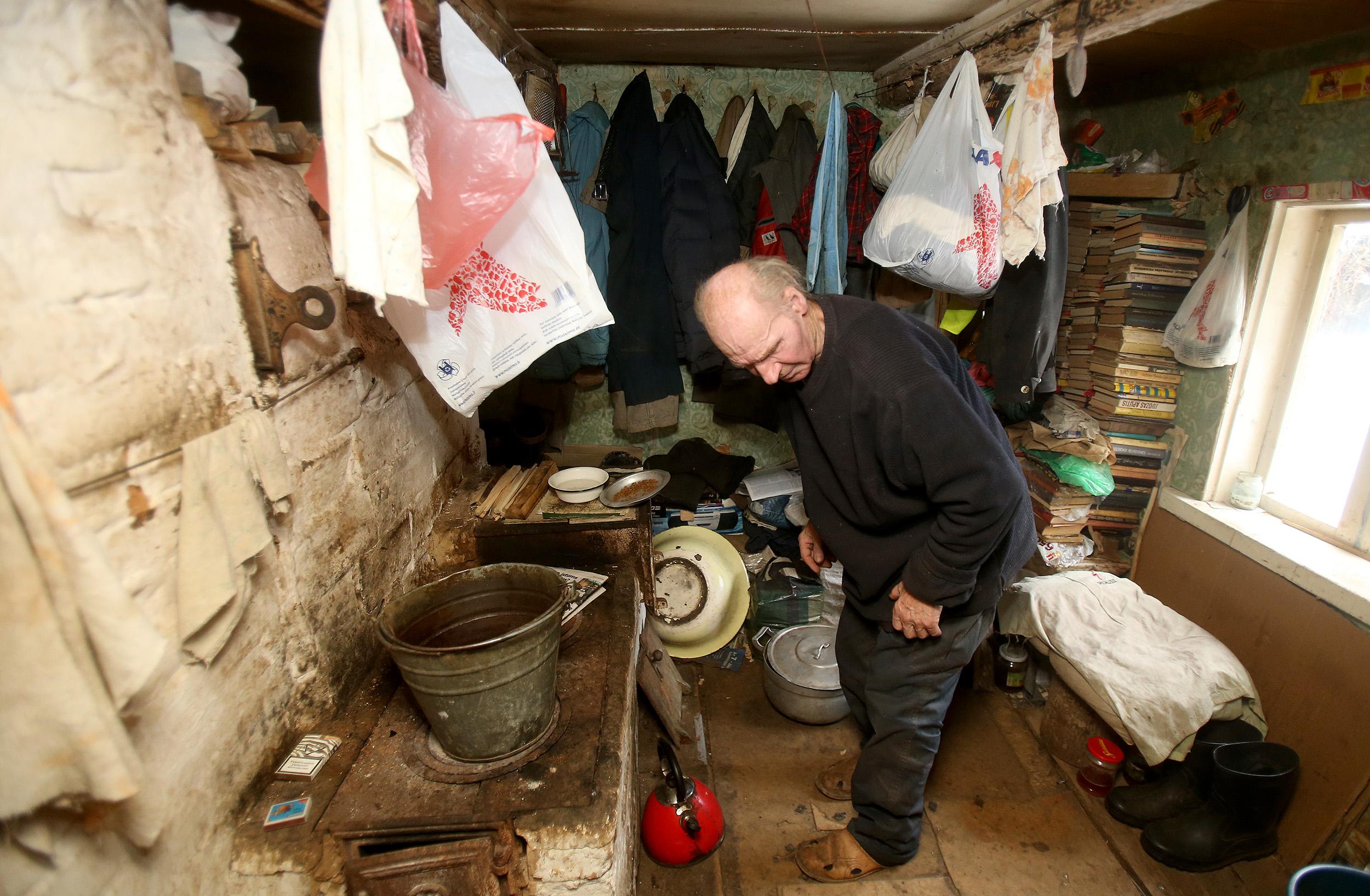 Trobelė visai mažulytė – vienas kambariukas ir virtuvėlė./ A. Barzdžiaus nuotr.