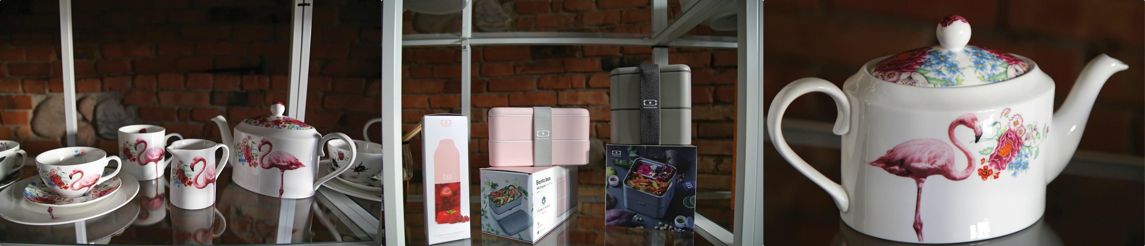 """Elektroninės parduotuvės """"VinMoDeco"""" prekių asortimentas pamažu plečiasi – pradėję nuo puodelių, lėkštučių bei kitų tradicinių stalo indų, dabar prekių katalogas pasipildė įvairiomis kitomis praktiškomis prekėmis./ G. Minelgaitės-Dautorės nuotr."""