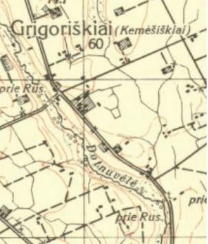 Iš 1937 m. žemėlapio.