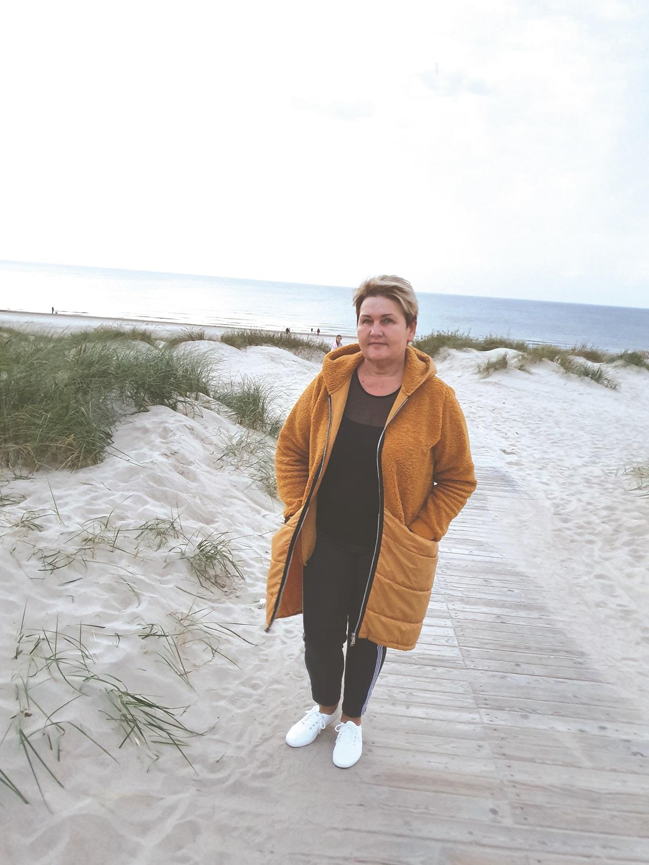 D. Stonkienė pripažįsta, jog laisvalaikiu lekia ne tik prie jūros – yra aplankiusi daugybę kitų Lietuvos vietų.