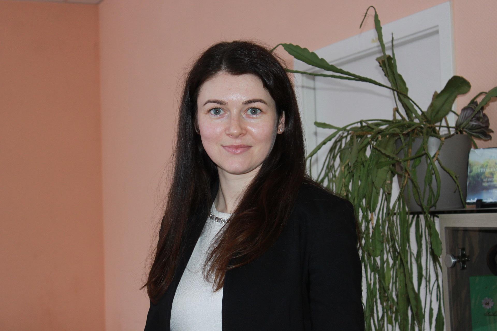 Gerda Galičinienė – patyrusi specialistė, prieš tai socialinės darbuotojos pareigas ėjusi Vilainių seniūnijoje./Džestinos Borodinaitės nuotr.