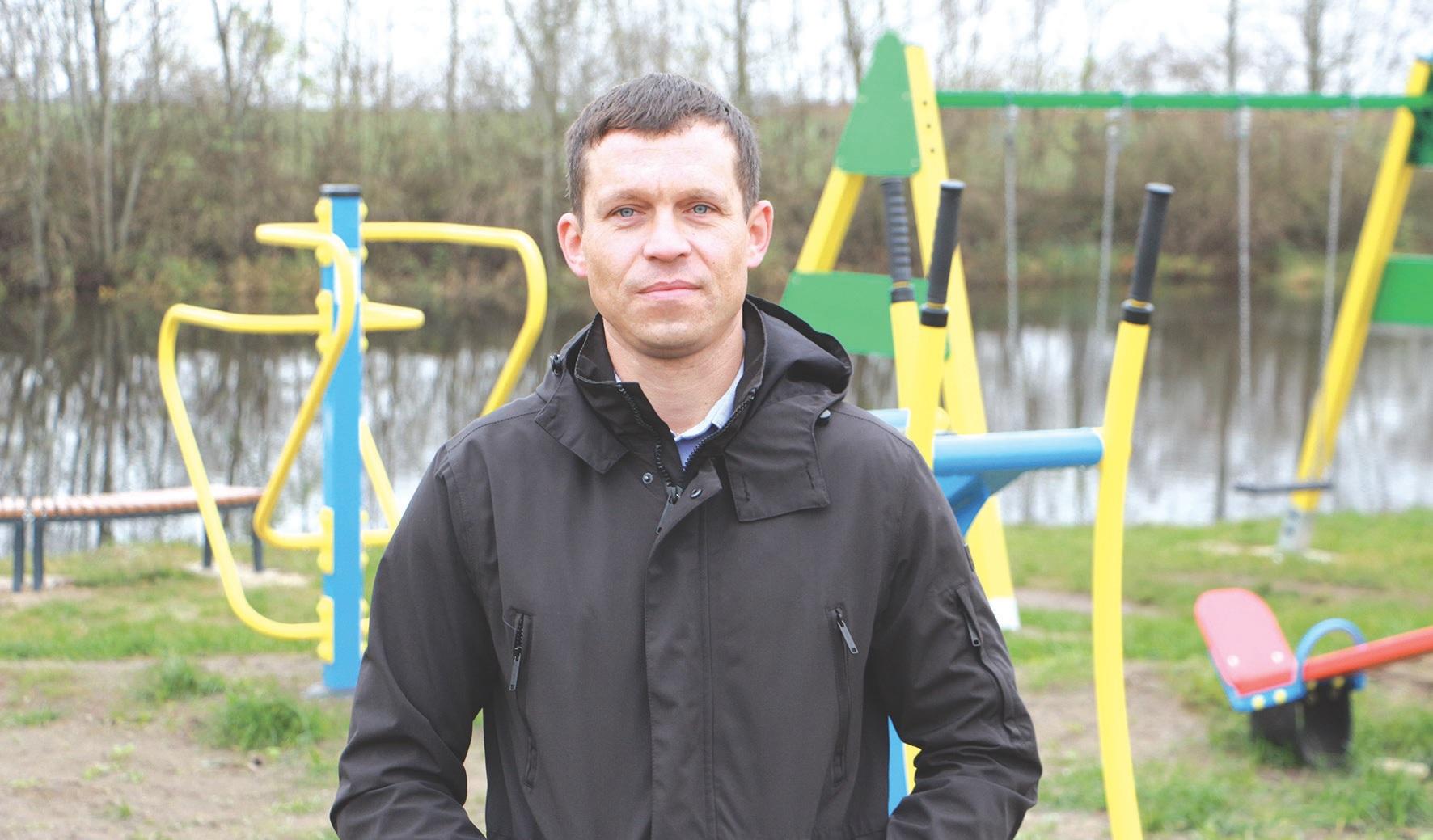 Gintaras Dervinis Bartkūniškių kaimo bendruomenės pirmininko pareigas eina nuo 2018 metų./Džestinos Borodinaitės nuotr