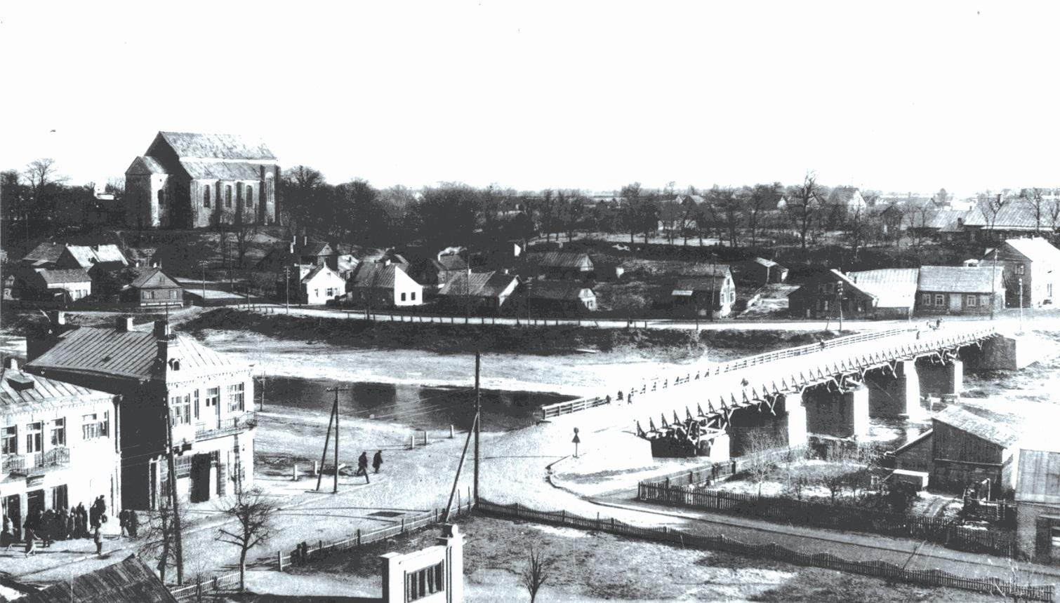Paskutinė tilto nuotrauka. 1959 metų Henriko Grinevičius nuotrauka