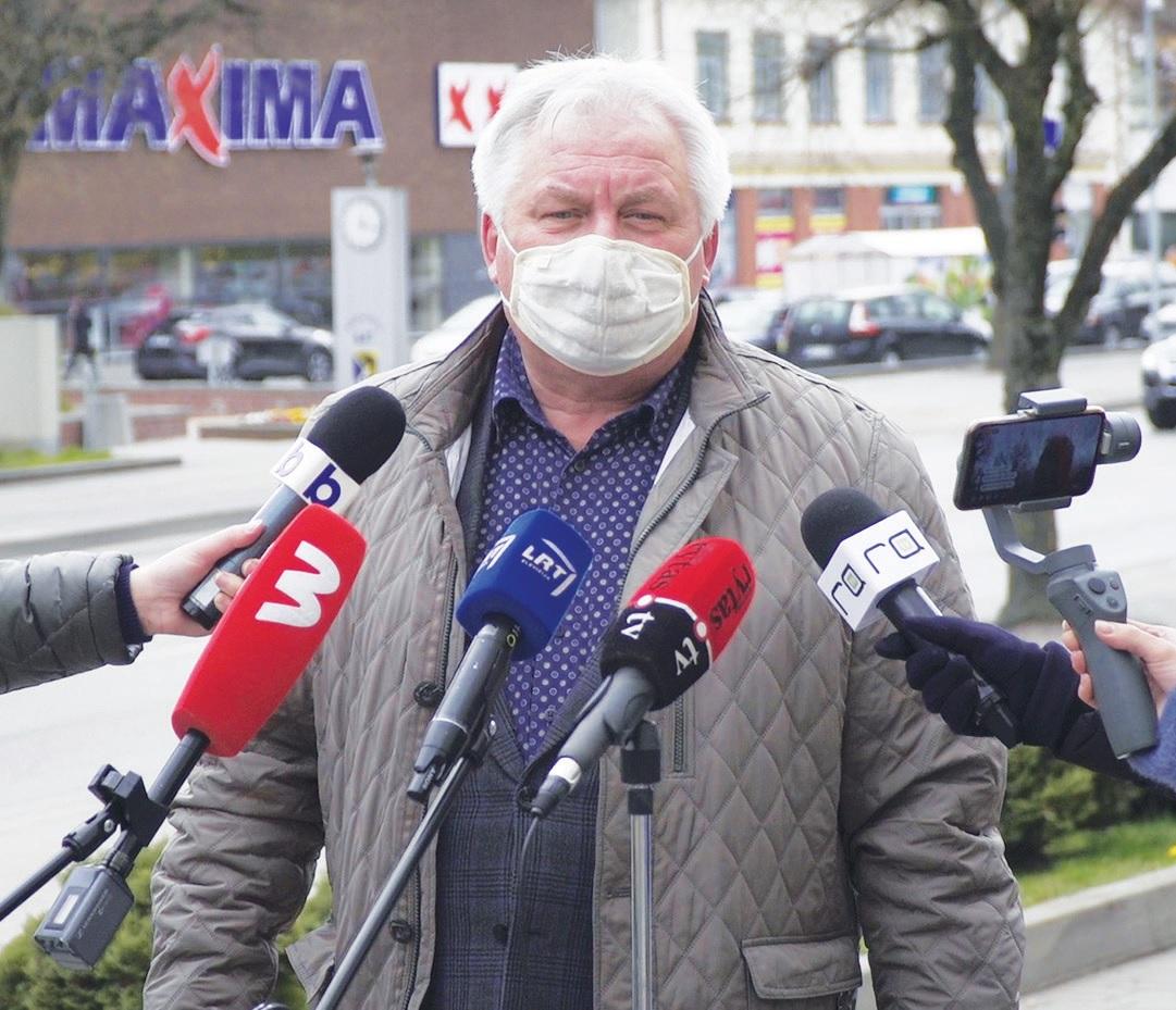 """Rimgaudas Praninskas: """"Mūsų pareiga yra išreikalauti iš darbus vykdančių rangovų vykdyti visus sutartyse numatytus įsipareigojimus."""""""