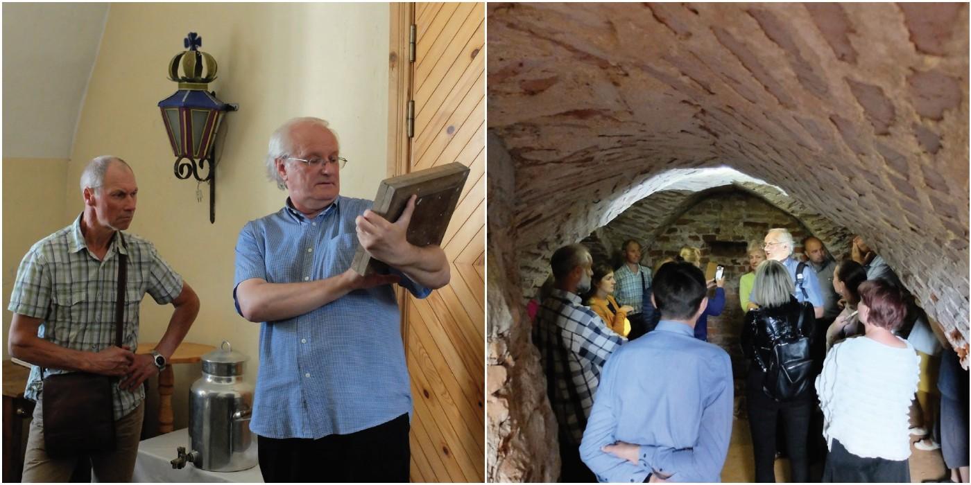 Rytas Tamašauskas mielai perduoda kraštotyrines žinias tiems, kas tuo domisi. Ypač mėgsta vesti ekskursijas po Akademijos dvaro parką, po Dotnuvos bažnyčios ir vienuolyno kompleksą.