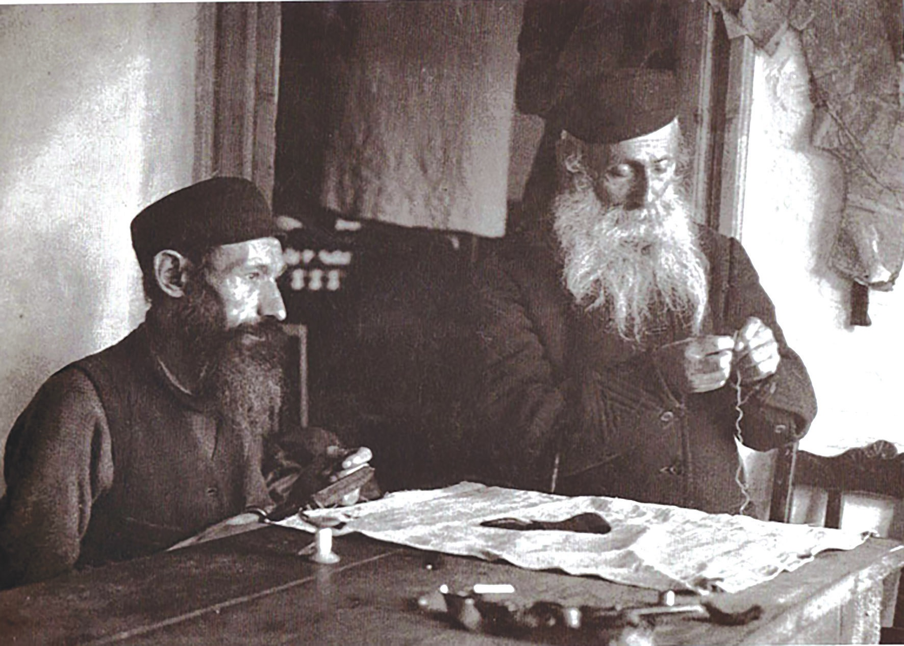Žydų siuvėjas. 1926 m. Fot. Alter Sholem Kacyzne, YIVO instituto fondas