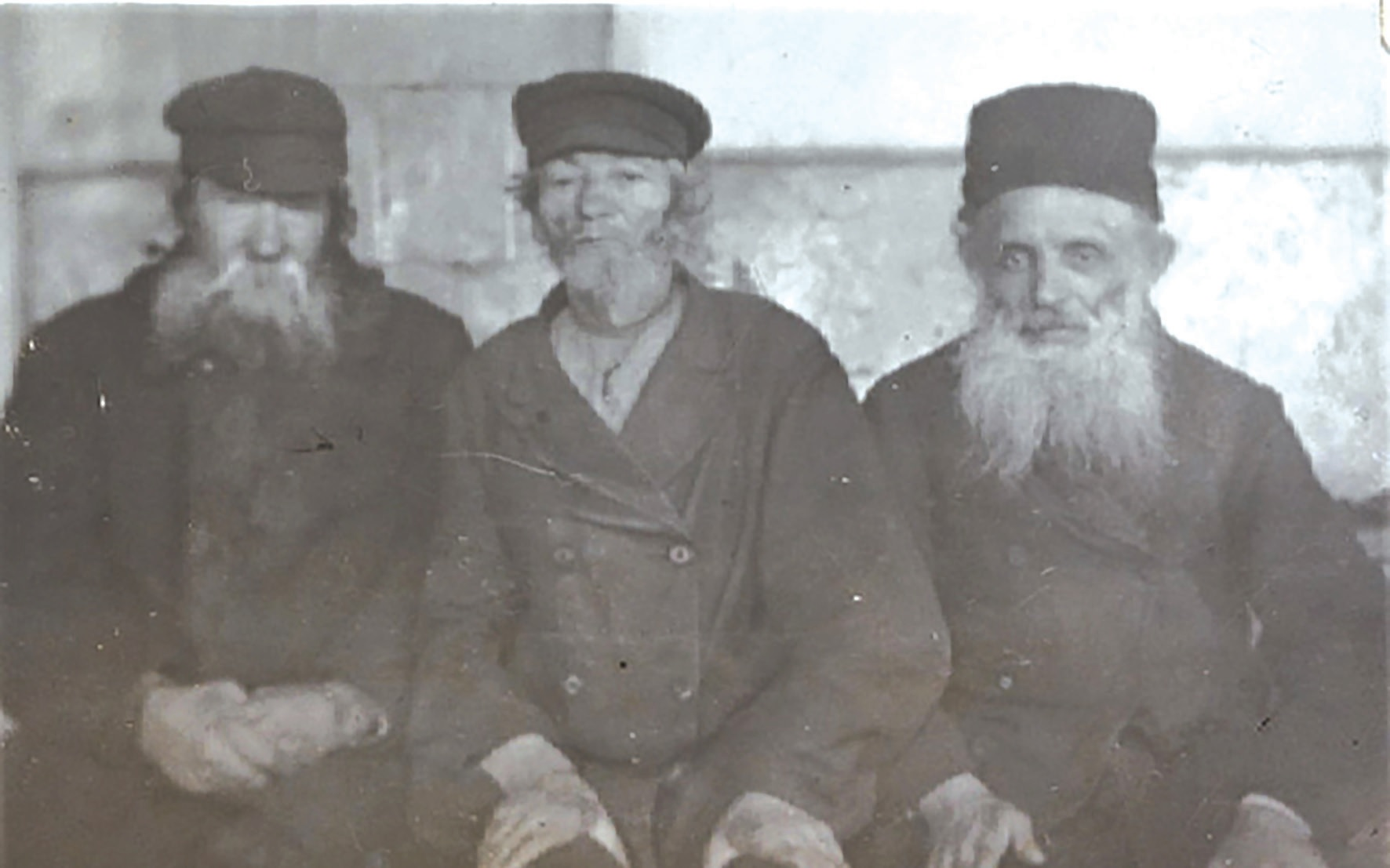 Žydai senelių namuose. 1915–18 m. fot. Jacob Steinhardt, Berlyno žydų muziejus