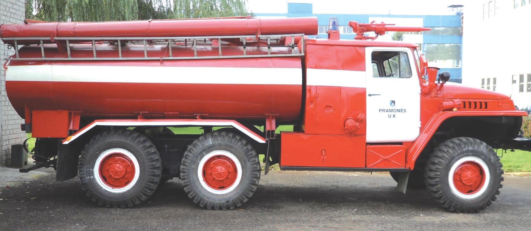 Tik dėl darbuotojų pastangų šie seni ugniagesių automobiliai yra vis dar prižiūrimi, remontuojami ir eksploatuojami.
